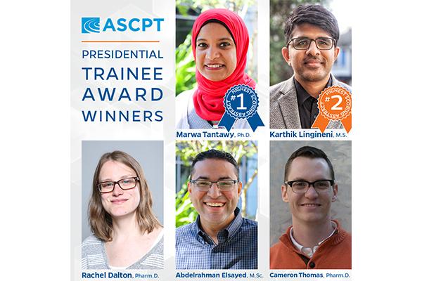 ASCPT 2020 winners